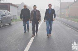 Grad Bjelovar: Završena 5,2 milijuna kuna vrijedna rekonstrukcija ceste u Starim Plavnicama