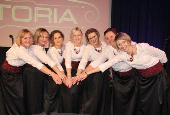 Daruvarska ženska klapa STENTORIA vrhunskim koncertom proslavila deset godina djelovanja