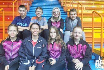 "Stolnoteniski klub ""Bjelovar"" na samom vrhu uz odlično vodstvo: Klub je ovaj vikend imao predstavnike na dva terena"