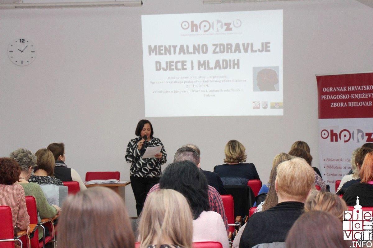 Održan stručno-znanstveni skup Mentalno zdravlje djece i mladih: 20 posto djece i mladih ima poteškoće iz područja mentalnog zdravlja