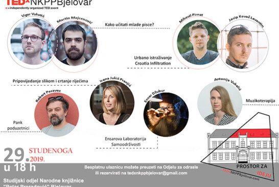 TEDx GOVORI u bjelovarskoj knjižnici: Osam govornika s izuzetno zanimljivim temama