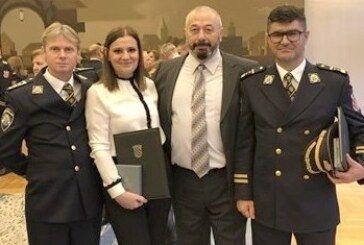 Policijski djelatnici Mila Pušić, Marijan Pavičić i Alen Ljuna odlikovani Spomenicom domovinske zahvalnosti