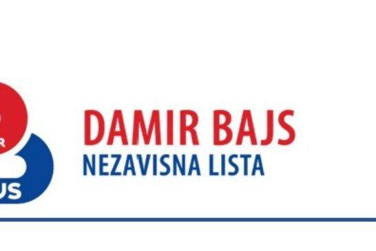 Priopćenje stranke Damir Bajs nezavisna lista: Predsjednik HSLS-a Dario Hrebak koristi gradske službe za političke obračune