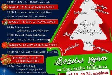 Zavirite u plakate Božićne čarolije i Božićnog sajma u Daruvaru i uveličajte blagdansko raspoloženje svojim dolaskom!