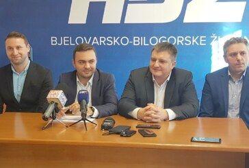 HDZ, HSS i HSLS na konferenciji za medije o problemima u tvrtki Bjelovarski sajam