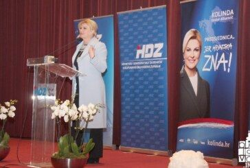 (FOTO) Predsjednica Kolinda Grabar Kitarović u sklopu predizborne kampanje posjetila Bjelovar