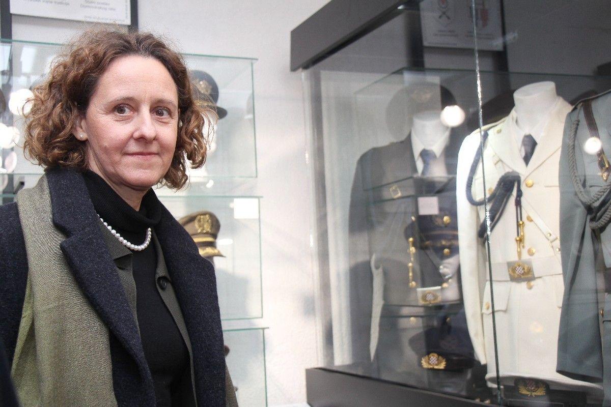 (FOTO) Ministrica kulture Nina Obuljen Koržinek u Bjelovaru o ulaganjima u kulturu i kulturne ustanove
