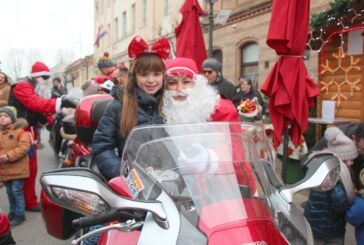 Veseli doček Dječje Nove godine u Bjelovaru