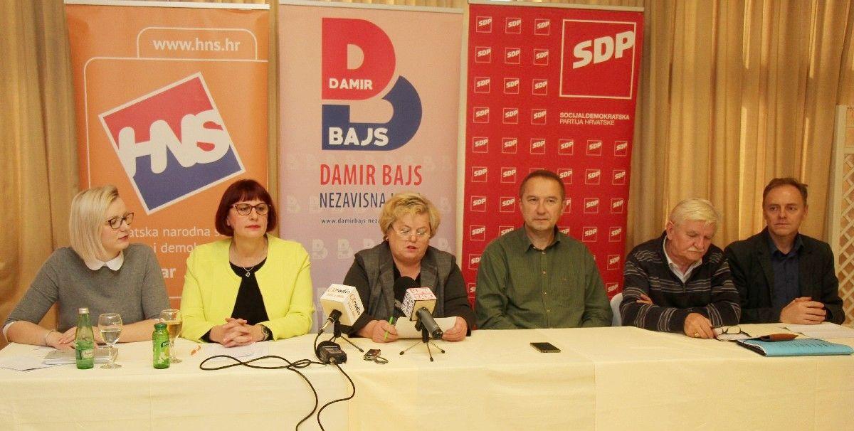 Članovi stranaka D. Bajs - Nezavisna lista, SDP i HNS o proračunu Grada Bjelovara za 2020.