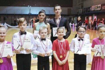 Plesni klub H-8 Bjelovar: Uspješan nastup i brojne medalje u Čakovcu