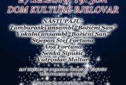 """Dođite na donacijski koncert """"Božićni san"""" u Dom kulture i pomognite Udruzi """"Bjelovarski leptirići"""""""