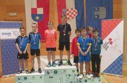 Badminton klub Bjelovar nastupio na prvenstvu Hrvatske za poletarce i juniore