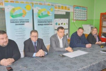 Županija: Kreću radovi na obnovi škole Donja Kovačica i sportske dvorane u osnovnoj školi u Velikom Grđevcu