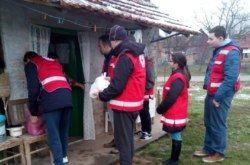 Volonterska akcija Korakovaca: Podjele paketa potrebitima