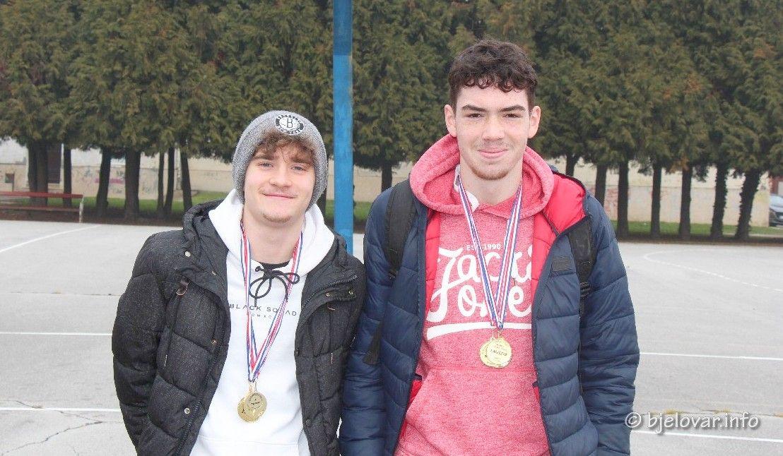 Bjelovarski gimnazijalci uspješni sportaši: Iako nemaju dvoranu, plasirali se na državno natjecanje