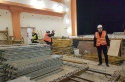 (FOTO) Krenula obnova bjelovarskog Doma kulture: Sve radove izvode bjelovarske tvrtke