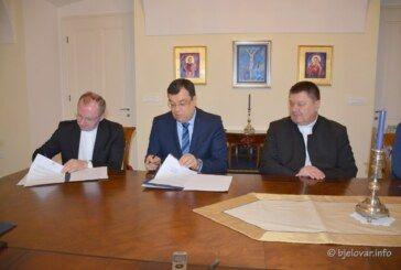 Očuvanje kulturne baštine: Potpisan ugovor između Bjelovarsko-bilogorske županije i Bjelovarsko-križevačke biskupije