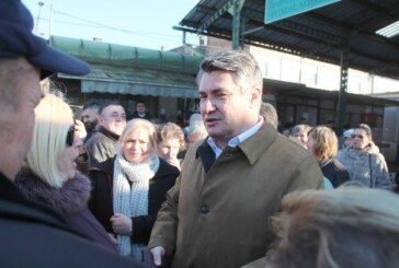 Predsjednički kandidat Zoran Milanović u Bjelovaru o večerašnjoj debati te HDZ-ovom prijevozu glasača