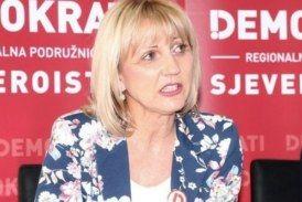 Potpredsjednica stranke Demokrati Bojana Hribljan smatra kako SDP igra pokvarenu igru: SDP je korak do velike koalicije s HDZ-om