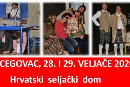 DOĐITE na 26. Dane hrvatskog pučkog teatra u Hercegovcu: U goste dolazi po prvi put grupa iz Crne Gore
