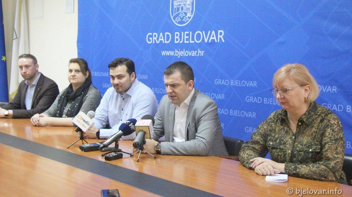 Gradonačelnik Hrebak s koalicijskim partnerima: Ispunjeno sve što je obećano u izbornom programu - želimo više i radimo na tome
