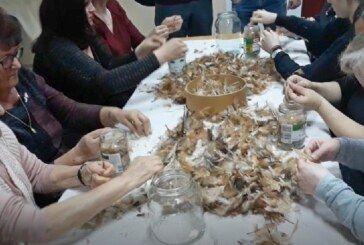 Hrvatska seljačka stranka održala u Kokincu tradicionalnu čijanu: Uz čijanje perja upriličene su i druge tradicionalne igre