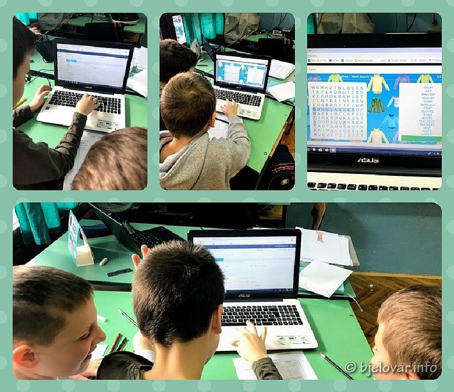 Učenici IV. osnovne škole Bjelovar sa školama iz 14 zemalja sudjelovat će u međunarodnom projektu eTwinning - English is a Piece of Cake