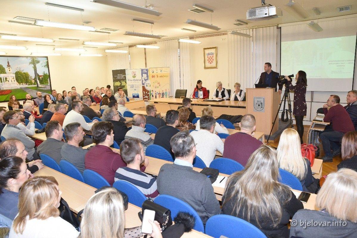 Grad Bjelovar nastavlja s Programom mjera za poduzetnike i obrtnike: Predstavljene mjere - Raspisivanje javnog poziva očekuje se 15. travnja