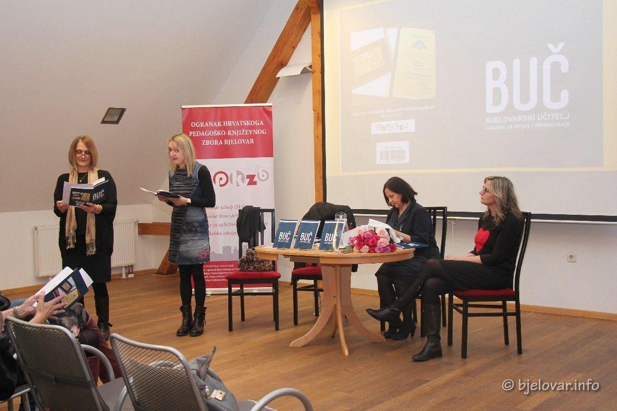 Održana promocija časopisa Bjelovarski učitelj: Stručni časopis za pitanje odgoja i obrazovanja