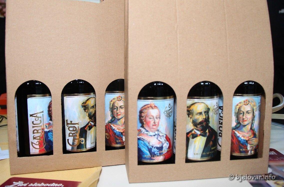 NAJSLAĐI SAJAM: Ponuda je velika - Osim meda i vina - odlična PIVA - Grof - Grofica i Carica