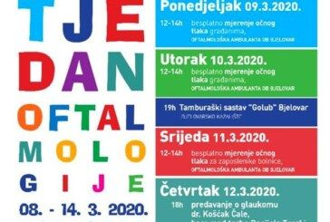 Uskoro u Bjelovaru Tjedan oftalmologije:  BESPLATNO prekontrolirajte svoj očni tlak