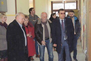 Župan Bajs obišao radove na obnovi područne škole u Gornjem Dragancu