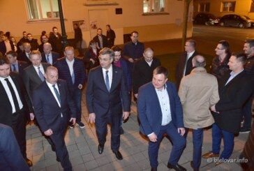 HDZ-ova izborna kampanja: Plenković sa svojim timom u Bjelovaru predstavio program 'Odvažno za Hrvatsku'