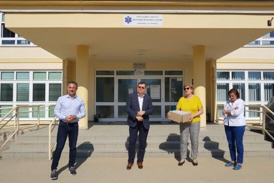 Županijska ustanova SUVENIR ARBOR izradila zaštitne maske za lice: Prva je donacija uručena Domu zdravlja BBŽ-e