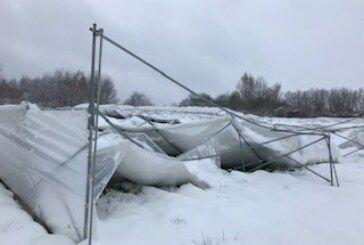 Županija: Proglašenje prirodne nepogode zbog velikih količina snijega i niskih temperatura
