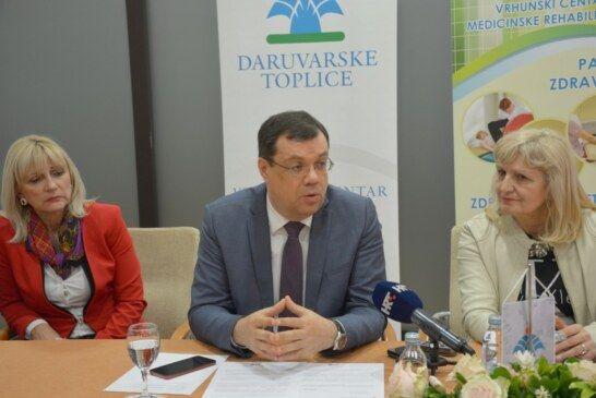 Nastavljaju se radovi u Daruvarskim toplicama: Potpisan ugovor s tvrtkom Aeroteh iz Zagreba