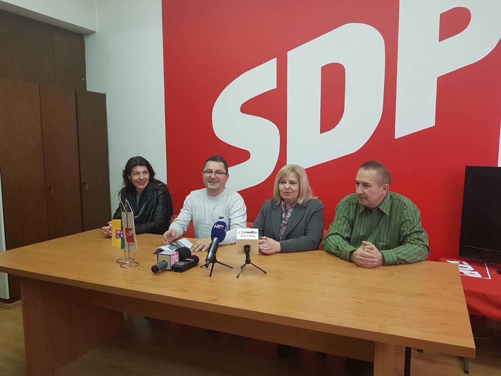Bjelovarski SDP: Dok je zasjedao Stožer civilne zaštite - gradonačelnici politiziraju