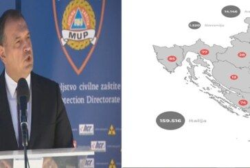 Ministar Beroš: Od jučer imamo šest preminulih što dokazuje tezu da je ovo smrtonosna bolesti – Moramo spriječiti širenje!