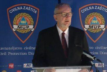 Božinović: Stožer će donijeti odluku o formiranju županijskih timova koji će izvršiti uvid u realizaciju provođenja mjera u DOMOVIMA za starije osobe