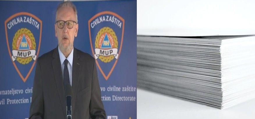 Ministar Božinović najavio dokument svih aktivnosti koje bi se u određenim fazama mogle otvarati!