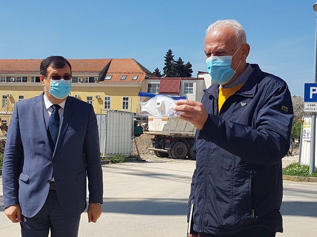 Uručene zaštitne maske FFP2 Općoj bolnici Bjelovar i Domu zdravlja BBŽ