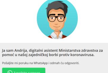 Andrija – Ako sumnjate da imate simptome koronavirusa? – Obratite se Andriji – Svi podaci su anonimni!