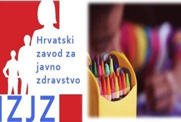 HZJZ najavio WEBINAR za predškolske ustanove i škole koje u ponedjeljak kreću s radom