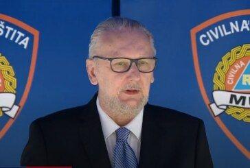 Ministar Božinović: Provodi se nadzor nad provođenjem mjera – Dosad je uočeno 1400 nepravilnosti