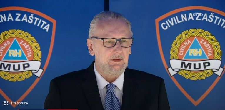 Ministar Božinović: Provodi se nadzor nad provođenjem mjera - Dosad je uočeno 1400 nepravilnosti