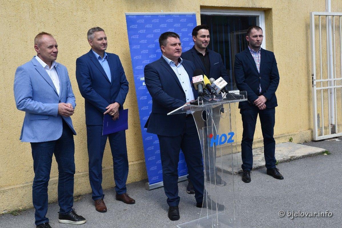 Bjelovarski HDZ o parlamentarnim izborima - Izvješću revizije o radu Županije te Bernardićevim aktivistima