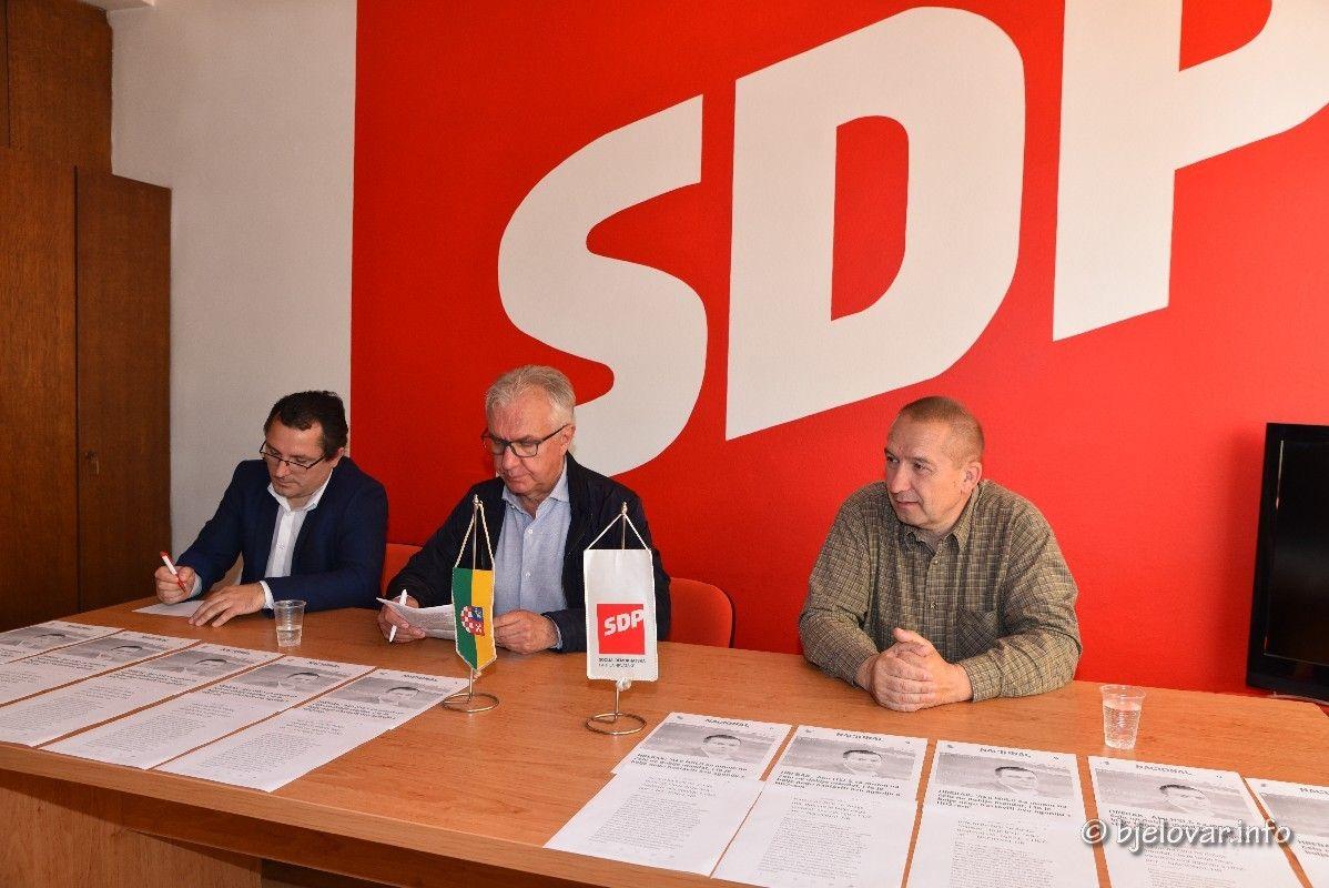 Bjelovarski SDP prozvao Hrebaka za niz nepravilnosti, ali i za mazohizam!