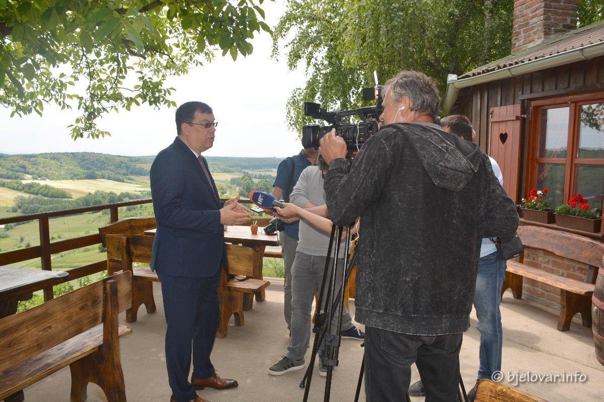 Župan Bajs: Aktualna Vlada zanemarila KONTINENTALNI TURIZAM - Županija će sama financirati promociju turističkih subjekata