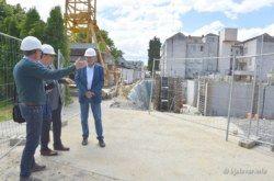 FOTO GALERIJA Napreduje izgradnja NOVE ZGRADE BJELOVARSKE BOLNICE – Župan Bajs redovito obilazi radove