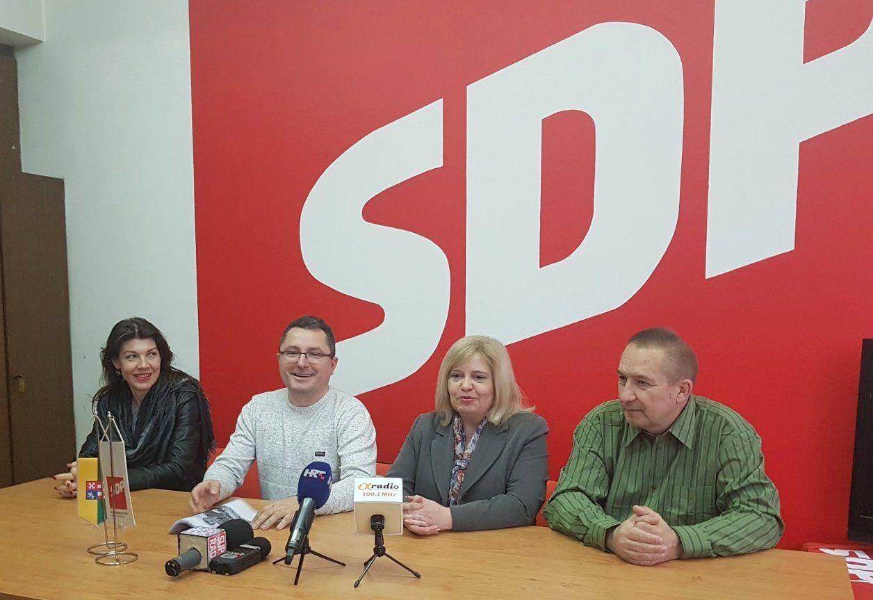 Bjelovarski SDP poručuje bjelovarskom HDZ-u: Osim niskih udaraca nemate ništa za ponuditi